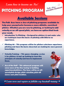 full pitching program